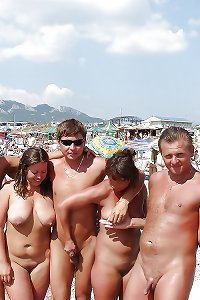 Naked Beach Girls and Guys 4